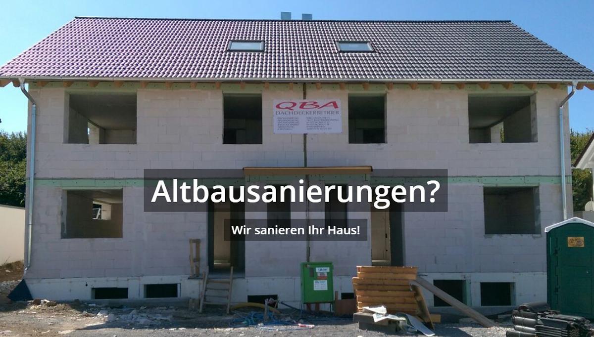 Altbausanierung aus 88422 Alleshausen
