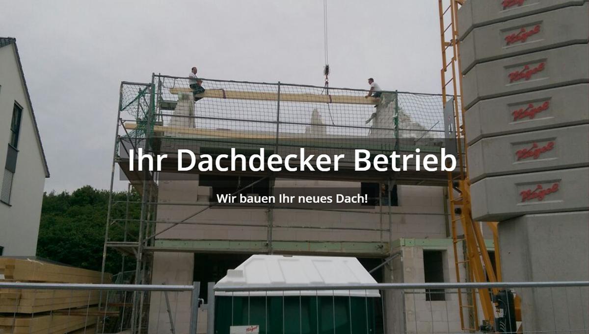 Dachdeckerei, Gerüstbau aus 74321 Bietigheim-Bissingen