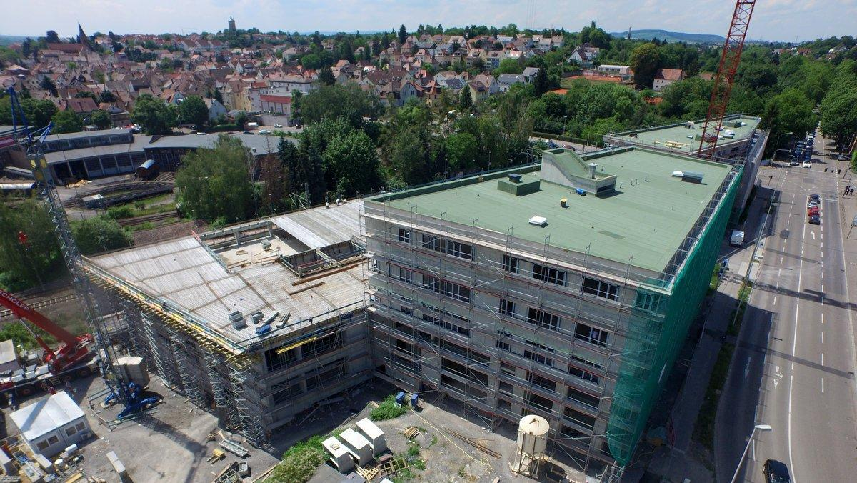 Bauflaschnerei, Dachrenovierung